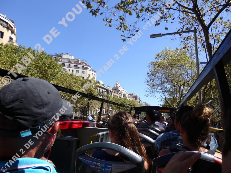 バルセロナのツーリストバス