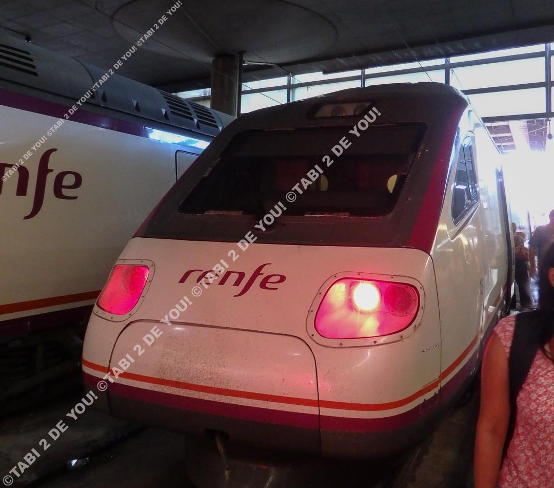 renfe(スペイン国鉄)の高速列車AVANT