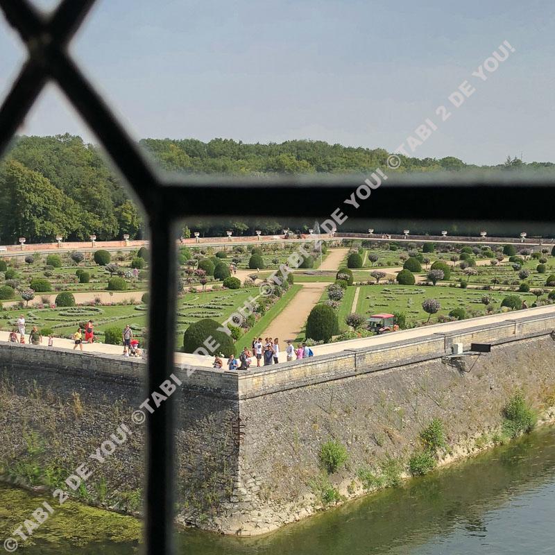 シュノンソー城の庭