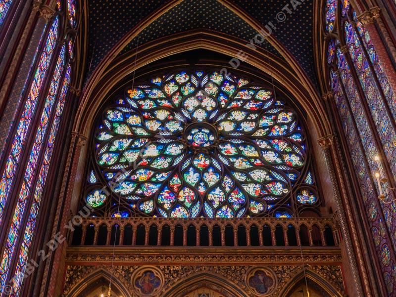 サントシャペル バラ窓